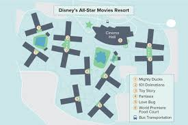 Disney World Resort Map Disney U0027s All Star Movies Resort Walt Disney World Undercover