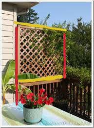 How To Build A Pergola On An Existing Deck by Privacy Screen Sand And Sisal