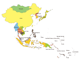 regional map of asia unicef eapro overview unicef east asia and pacific region map