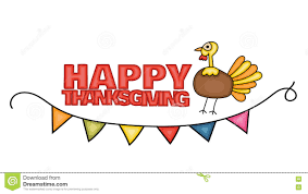 Free Happy Thanksgiving Happy Thanksgiving Day Banner Sign With A Turkey Stock Vector
