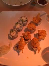 cuisine flash but no flash but jumbo crab california roll rockin spicy tuna roll