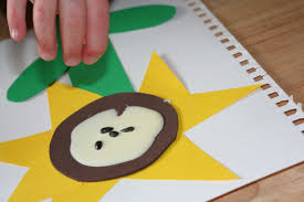 integrating shapes and sensory into art a sunflower craft