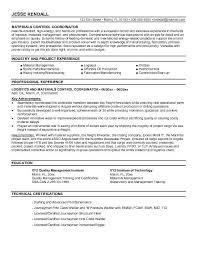 ironworker resume logistics coordinator resume sample gallery creawizard com