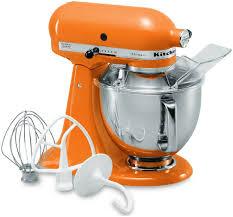 Mini Kitchen Aid Mixer by Kitchen Aid Tangerine Orange Artisan Stand Mixer