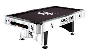 Pool Table Supplies by Chicago White Sox Pool Table
