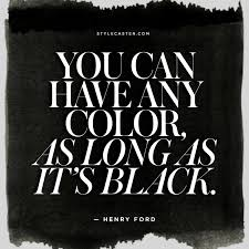 Can You Black With Color The Best Fashion Quotes On The Color Black Stylecaster