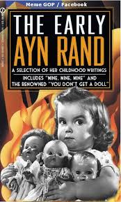 Ayn Rand Meme - the early ayn rand eternal vigilance