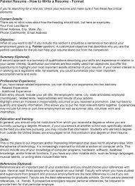 skills resume template 2 painters resume exles professional house painter resume