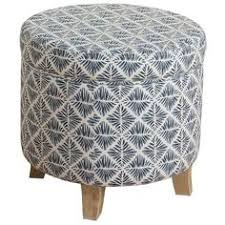 tufted round storage ottoman 60 liked on polyvore featuring