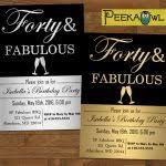 funny 40th birthday invitation templates free orax info