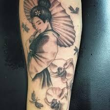 amazing tribal orchid tattoo ideas