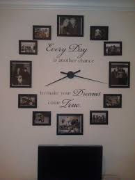Quotes For Dining Room by Best 25 Picture Clock Ideas On Pinterest Picture Wall Clocks