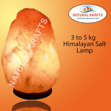 natural therapeutic himalayan salt lamp multi sizes cable and