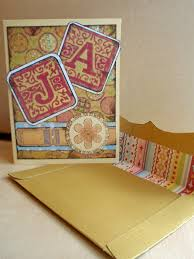 Make Your Own Envelope My Great Challenge Diy Thank You Card And Envelope