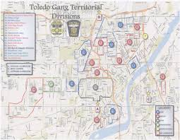 Central Ohio Map by The Blade Obtains Toledo Police Department U0027s U201cgang Territorial