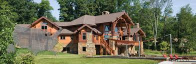new jersey house new jersey log and timber frame homes by precisioncraft