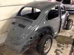 grey volkswagen bug thesamba com beetle late model super 1968 up view topic