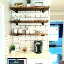 kitchen set ideas open kitchen shelves decorating ideas industrial kitchen set