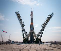 upgraded soyuz to ferry three to space station in extended orbital