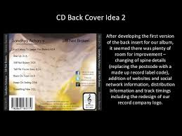 photo album inserts cd back cover ideas