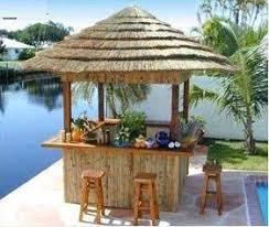 Backyard Tiki Bar Ideas Tiki Bar Goal In Life Home Goods Pinterest Tiki Bars Bar