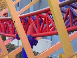 Six Flags Giant 2016 Neuheit Fireball Giant Loop Larson Six Flags New England