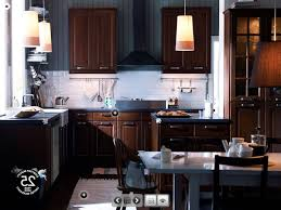 Stain Kitchen Cabinets Darker Grey Stained Kitchen Cabinets Double Handle Lavatory Faucet Sink