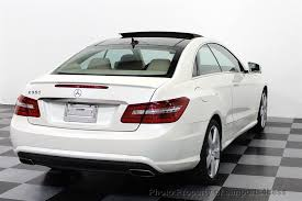 used mercedes coupe 2011 used mercedes e class certified e550 coupe v8 sport