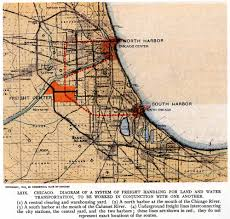 Brown Line Map Chicago by Plan Of Chicago Rail Freight Center