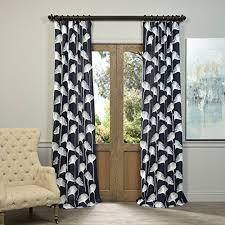 Navy Buffalo Check Curtains Navy Blue And White Curtains Amazon Com