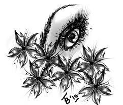 tattoo design sakura eye by tobiasrosetta on deviantart
