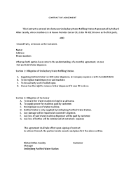 Business Partnership Agreement Letter Sample contract of agreement water dispenser 1