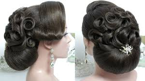 bridal hair bun bridal hairstyle for hair tutorial wedding bun updo step by