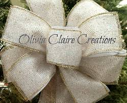 white velvet ribbon christmas bow christmas tree bow bow tree bow