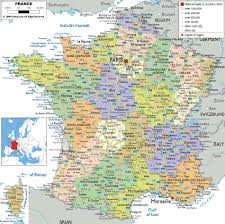Marseilles France Map by France