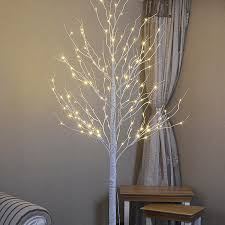 artificial birch trees with lights stock in us 2015 white led artificial birch tree light 8ft 132leds