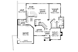 Lakeside Floor Plan European House Plans Lakeside 10 551 Associated Designs
