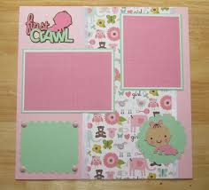 25 unique baby scrapbook pages ideas on baby