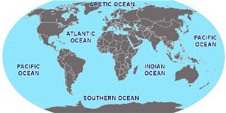map world seas lists seas and oceans a to z index of the world