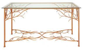 Uma Table L Console Table U Uma Sleek Console Table Metal W H L Modern Wood