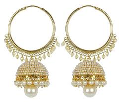fancy jhumka earrings royal bling stylish fancy party wear traditional