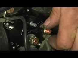 how to replace a starter solenoid hooking up a starter