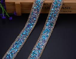 popular rhinestone trim banding buy cheap rhinestone trim banding free ship new 2cm width glass crystal rhinestone trim banding hotfix strass crystal chain bridal beaded