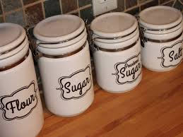 kitchen canisters geramic labels best kitchen canisters ideas