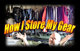 how i store and organize my backpacking gear kdawg indoors