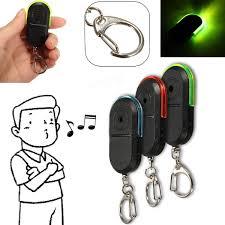 wireless anti lost alarm key finder locator keychain whistle sound