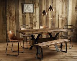 Dining Tables Farmhouse Kitchen Table Sets Industrial Reclaimed by Kitchen U0026 Dining Tables Etsy Uk