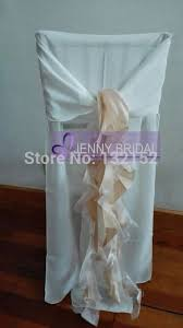 Wedding Chair Covers Wholesale C006b1 Fancy Chiffon Wedding Chair Covers Wholesale In Chair Cover