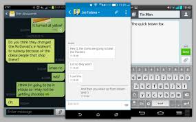 best sms app android best alternatives sms text messaging apps for android