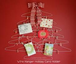 christmas card holder 11 diy christmas card holders tip junkie
